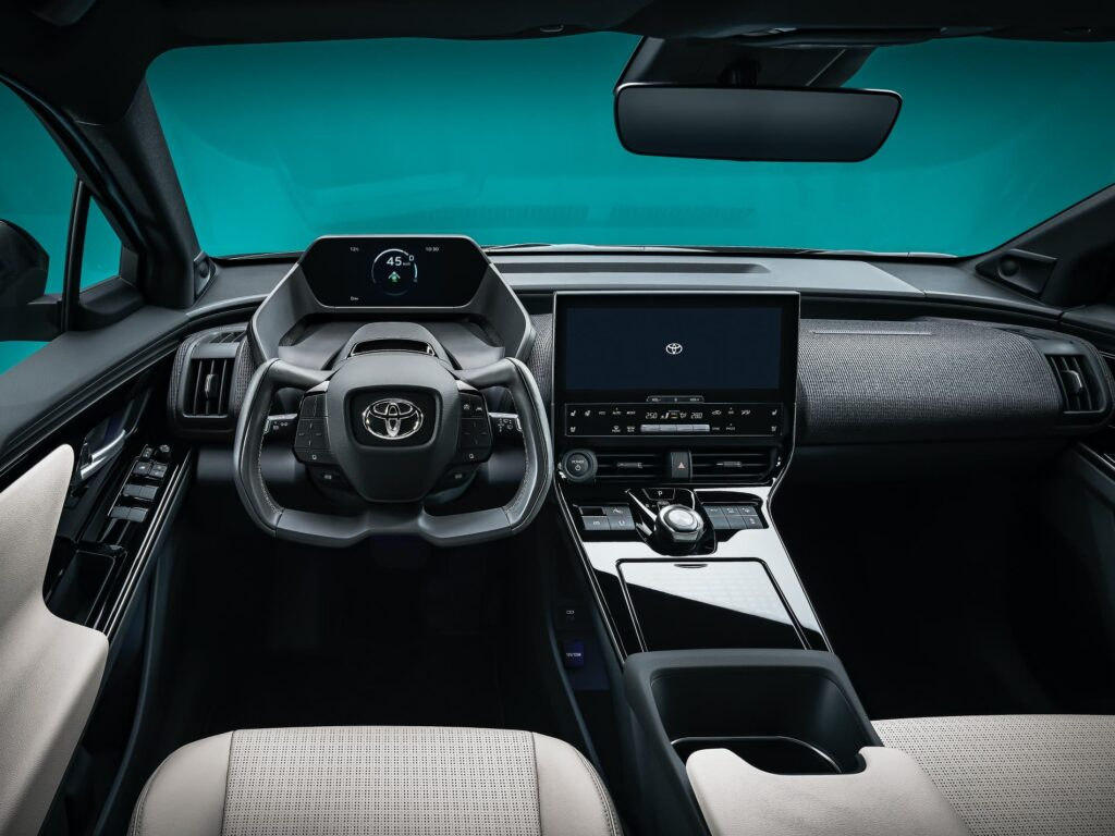 La imagen tiene un atributo ALT vacío; su nombre de archivo es Toyota-BZ4x-electrico-1024x768.jpg